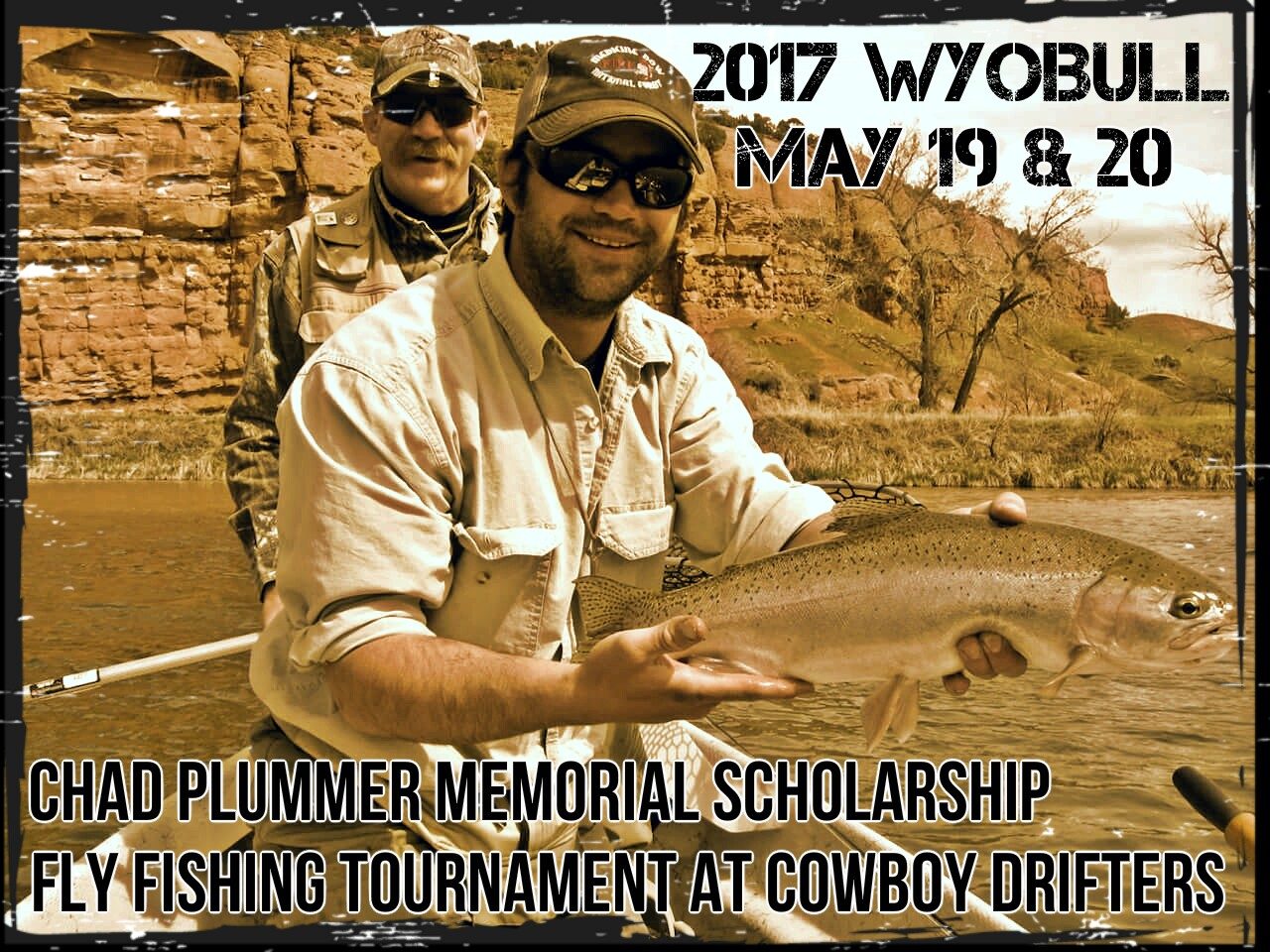 Fly Fishing Tournament Cowboy Drifters - Chad Plummer
