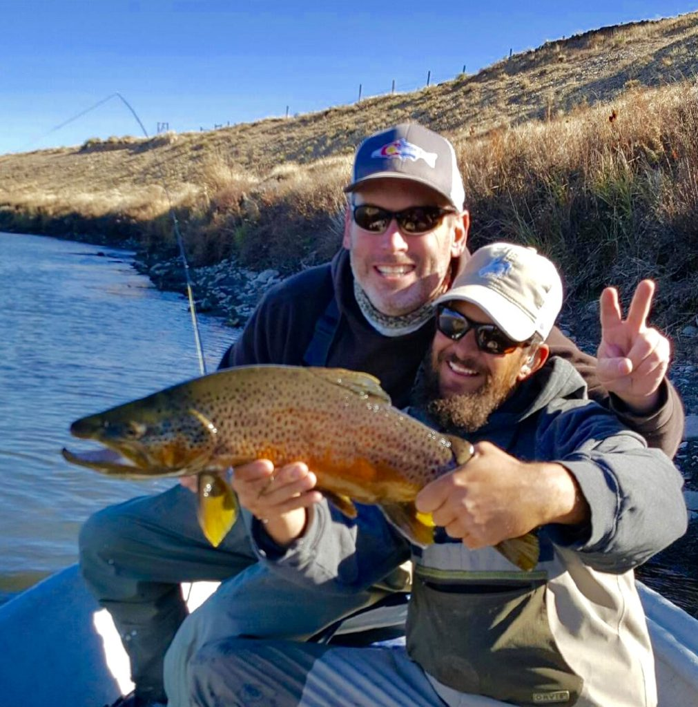 Guided fly fishing trips casper wyoming cowboy drifters for Fly fishing charters