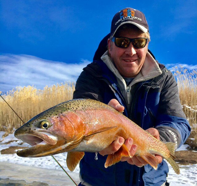 Grey reef fishing report north platte river cowboy for Miracle mile fishing report