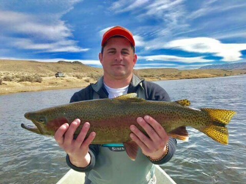 Miracle mile fishing report north platte river cowboy for Casper wyoming fly fishing