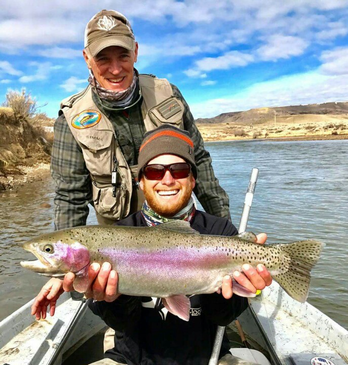 grey reef fishing report north platte river wyoming