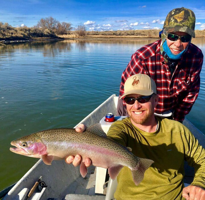 Grey reef fishing report north platte river wyoming for Miracle mile fishing report